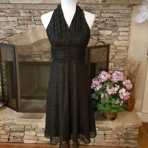Evan Picone Black Cocktail Dress